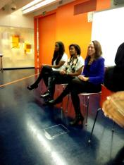 Divas on Demand Panel - Claudia Liza, Gemma Feare and Jenny Garrett