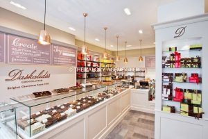 Daskalides chocolatier in Covent Garden.